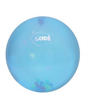 ブルー  センサリーボール ラトルボール2個セット見る