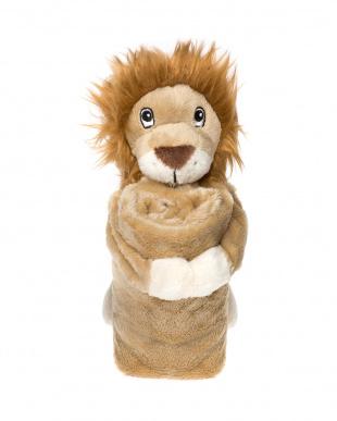 ライオン  ミニブランケット見る