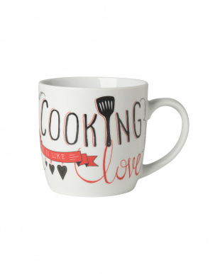 Cooking Love  マグカップ2個セット見る