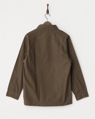 KHAKI  TALARIA リップストップシャツジャケット見る