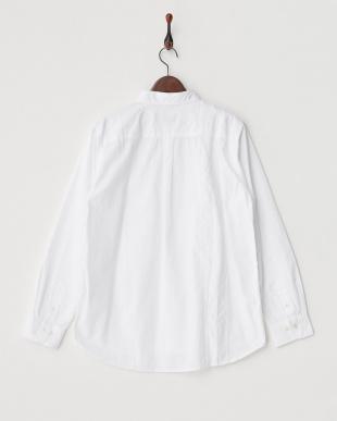 WHITE  TROUT リメイク風 製品染めシャツ見る