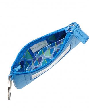 Coastal Blue  Zip ID Case Plain見る