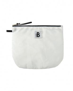 WHITE  BOSTON BAG見る