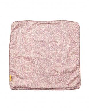 ピンク  クッションケース 45×45cm見る
