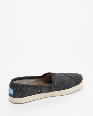 Black Stripe Nylon AVALON SLIP-ON見る