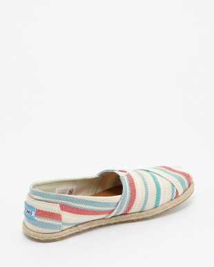 Pale Pink Woven Stripe Rope Sole CLASSIC見る