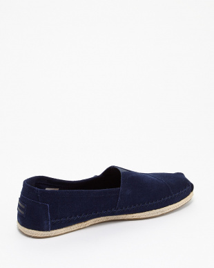 Navy Suede Rope Sole CLASSIC見る
