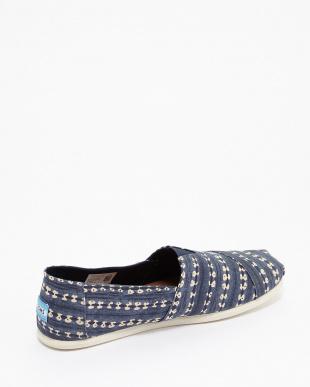 Navy Batik Stripe CLASSIC見る
