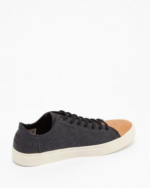 Black Washed Canvas/Leather Toe LENOX見る