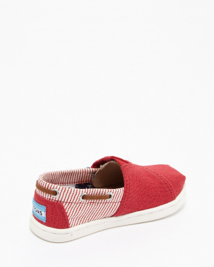 Red Burlap/Stripe Textile  BIMINI見る