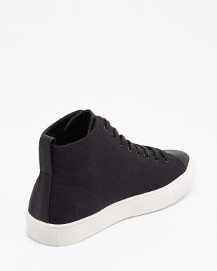 ブラック×ホワイト HL-Hi-sneaker見る