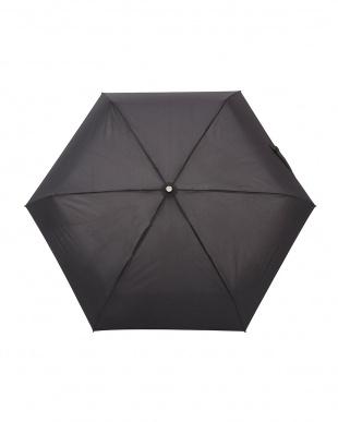 ブラック TITAN 4セク 折りたたみ傘見る