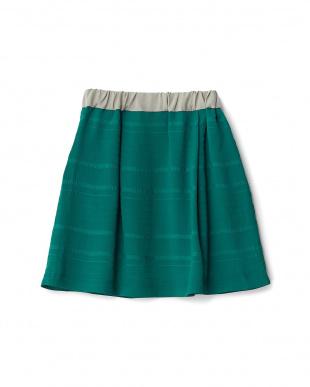 グリーン  シフォンスカート見る