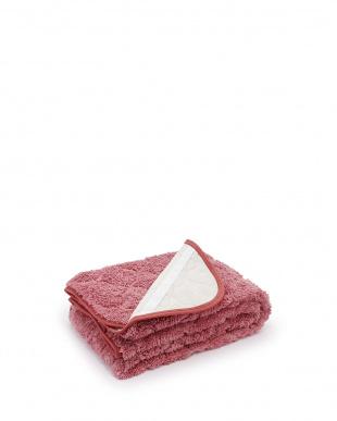 ピンク  洗える ボリュームタイプあったか敷きパッド シングル見る