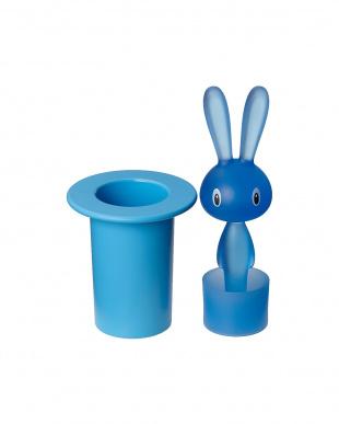 ブルー  Magic Bunny 楊枝入れ見る