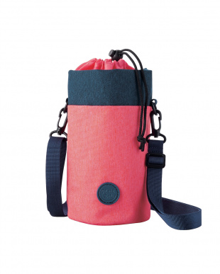 ピンク/ブラック ランチジャーケース(550mL)/小物収納マルチポーチ見る