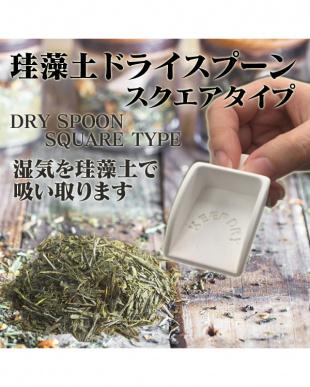 ホワイト 珪藻土ドライスプーン 2個セット見る