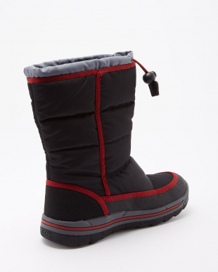 BLACK/DK RED  OVERLAND ナイロンアンクルブーツ見る