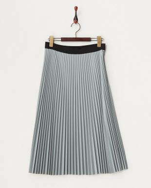 グレー CAROLINA プリーツスカート見る