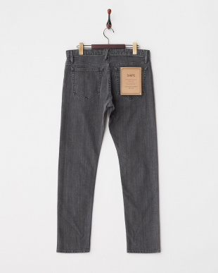 ブラック VINTAGE WASHED DENIM見る