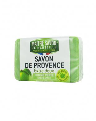 グリーンアップル  サボン・ド・プロヴァンス 100g×4見る