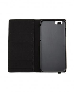 ブラック  iPhone6・6sスマートフォンケース見る