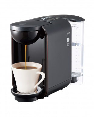 ブラック  2WAYドリップコーヒーマシン UCCドリップポッドDP2見る