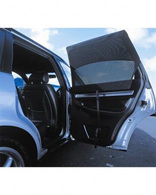 ブラック オートシェード レクタンギュラー 直角ドア用 【Twin】 2枚入見る