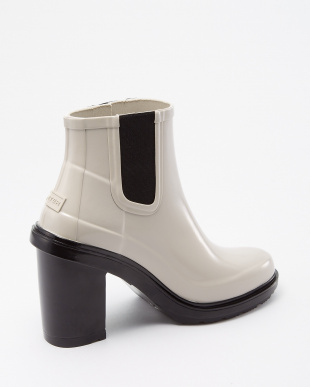 PARCHMENT  W ORG REFINED HIGH HEEL CHL SHORT BOOTS見る