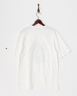 ホワイト  ガーデンスカルTシャツ見る