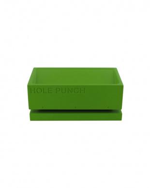 グリーン  BURO3点SETステープラー&パンチ&テープカッター見る