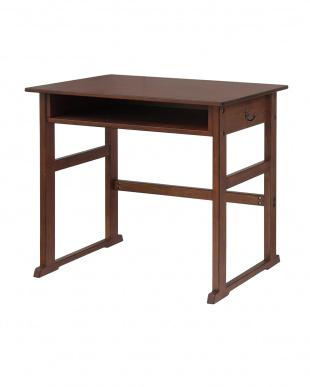 ブラウン School Desk1P 幅70cm|noteco見る
