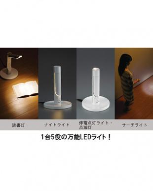 ホワイト LEDふとんライト見る