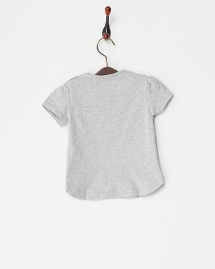 グレー リボンTシャツ|BABY見る