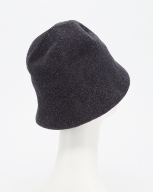CHARCOAL  KOPKA Wool Hat見る