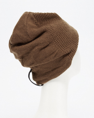 BROWN  マニエラ3D BEANIE SP見る