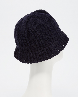 NAVY  Cable:WoolCLOCHE見る