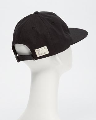BLACK  B:MIL 6PANEL CAP見る