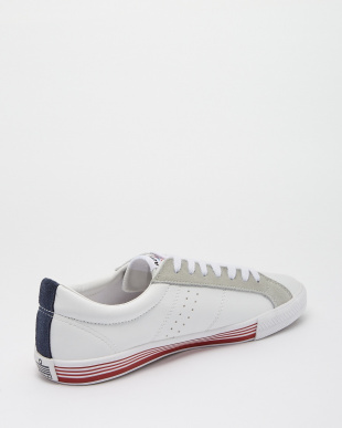 White/Tricolor  LEICESTER スニーカー見る