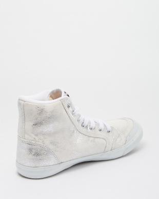 White/Silver  INOMER HI F スニーカー見る