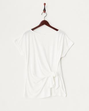 グレー ロングカーディガン+Tシャツセット見る