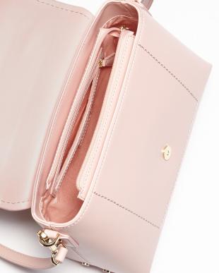 ピンク  SUGAR SWEET フラップ2WAYハンドバッグ見る