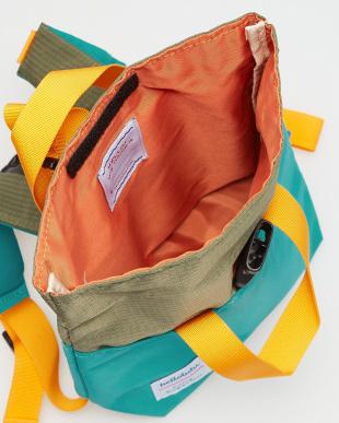 OLIVE/LAKE GREEN  JAZPER Roll-top Backpack見る