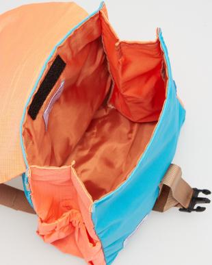 NEON ORANGE/LIGHT BLUE  LINUS Outdoor Backpack見る