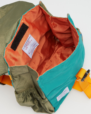 OLIVE/LAKE GREEN  LINUS Roll-top Backpack見る