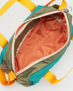 OLIVE/LAKE GREEN  VALO Mini Boston Bag見る