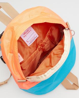 NEON ORANGE/LIGHT BLUE  PILI All-day Backpack見る