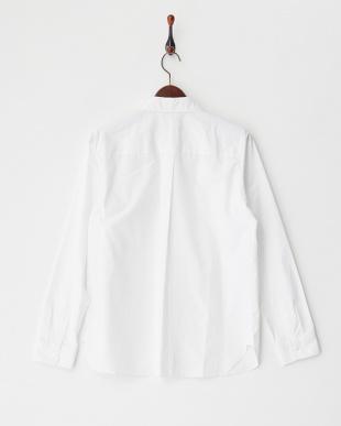 ホワイト 100/2ブロードシャツ見る