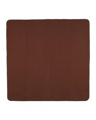ブラウン  カラーズ カービングラグ 200×240cm見る