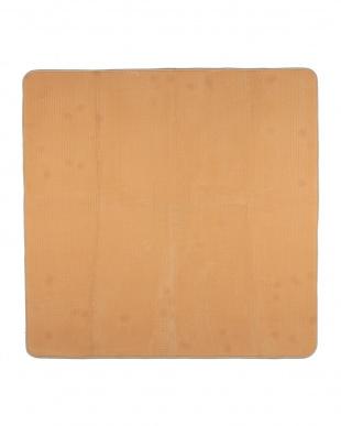 ベージュ  カラーズ カービングラグ 200×240cm見る